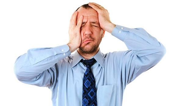 Психологическая проблема у мужчины, стресс
