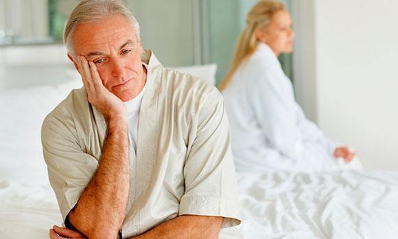 Проблемы в постели у мужчины