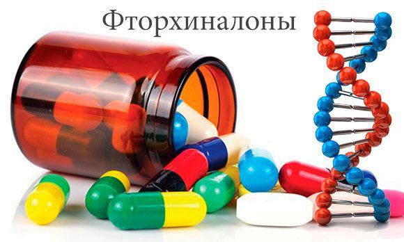 Фторхиналоны от простатита
