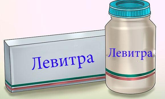 "Препарат ""Левитра"""